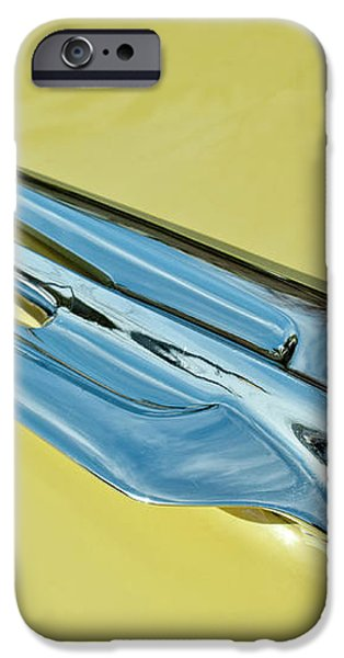 1956 Cadillac Sedan Deville Hood Ornament 2 iPhone Case by Jill Reger