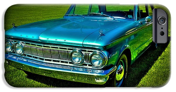 Automotive iPhone Cases - 1962 Mercury Comet iPhone Case by David Patterson