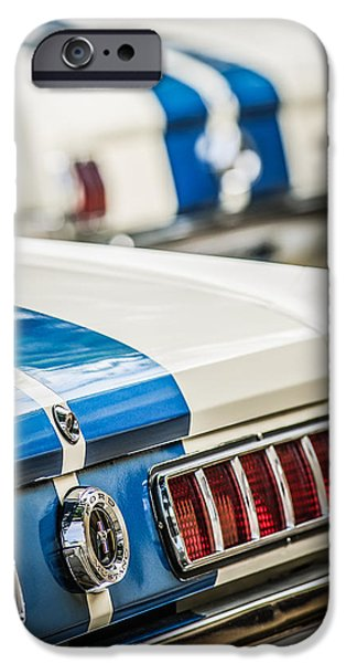 Buy iPhone Cases - 1965 Ford Shelby Mustang GT 350 Taillight -1037c iPhone Case by Jill Reger