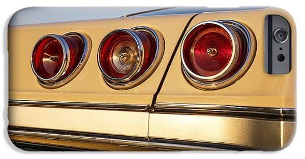 Old Cars iPhone Cases - 1965 Impala iPhone Case by Dennis Hedberg