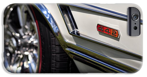 Recently Sold -  - Power iPhone Cases - 1965 Olds 4-4-2 iPhone Case by Gordon Dean II