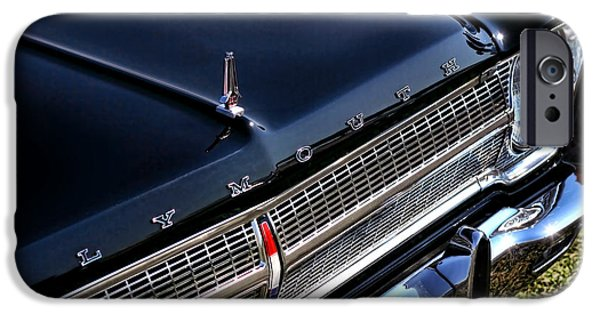 440 iPhone Cases - 1965 Plymouth Satellite 440 iPhone Case by Gordon Dean II