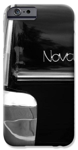 Drag iPhone Cases - 1966 Chevy Nova II iPhone Case by Gordon Dean II