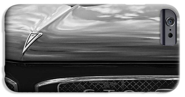 Bobcats Digital iPhone Cases - 1967 Pontiac GTO iPhone Case by Gordon Dean II