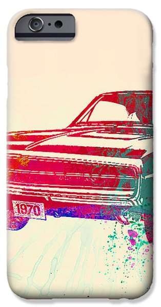 1970 Dodge Charger 1 iPhone Case by Naxart Studio