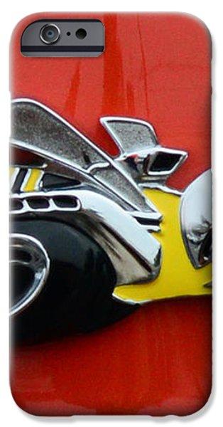 1970 Dodge Super Bee Emblem iPhone Case by Paul Ward