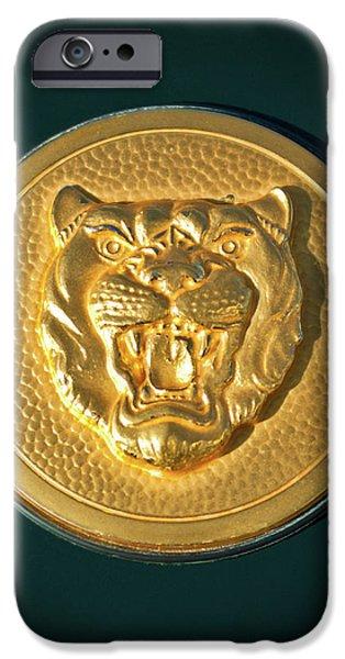 1994 Jaguar XJS Emblem iPhone Case by Jill Reger