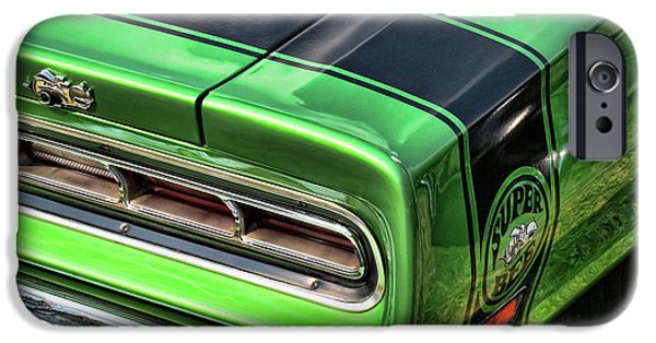 Coronet iPhone Cases - 1969 Dodge Coronet Super Bee iPhone Case by Gordon Dean II