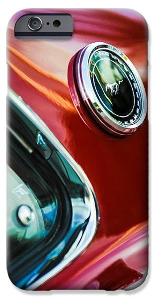 1969 Ford Mustang Mach 1 Emblem iPhone Case by Jill Reger