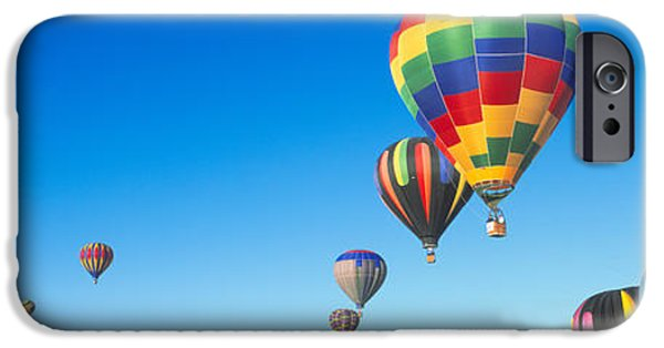 Hot Air Balloon iPhone Cases - 25th Albuquerque International Balloon iPhone Case by Panoramic Images