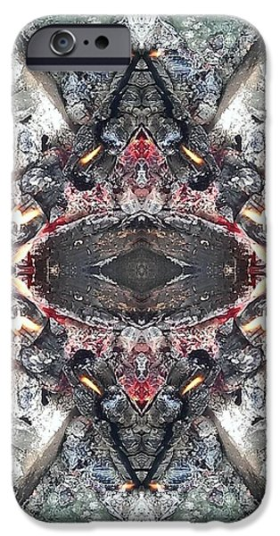 Fury iPhone Cases - 4all Photos iPhone Case by Chris  Chatenka
