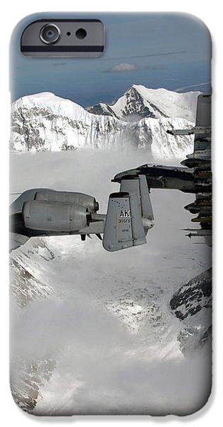 A-10 Thunderbolt Iis Fly iPhone Case by Stocktrek Images