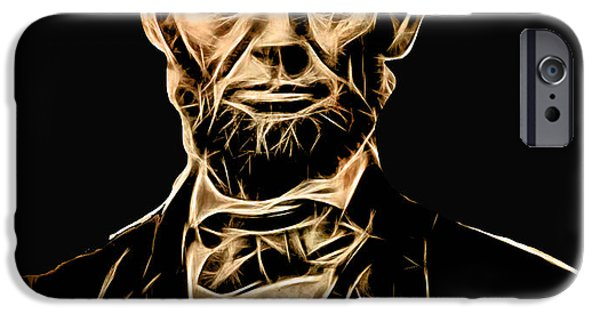 President iPhone Cases - Abraham Lincoln Collection iPhone Case by Marvin Blaine