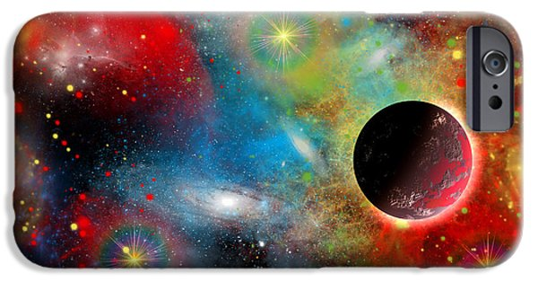 Stellar iPhone Cases - Artists Concept Illustrating iPhone Case by Mark Stevenson