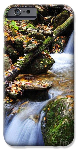 Autumn Mountain Stream iPhone Case by Thomas R Fletcher