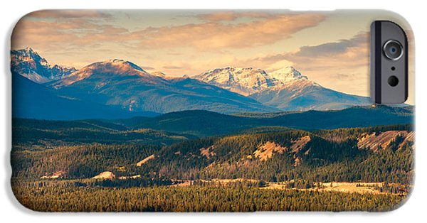 River iPhone Cases - Banff National Park  iPhone Case by Ulrich Schade