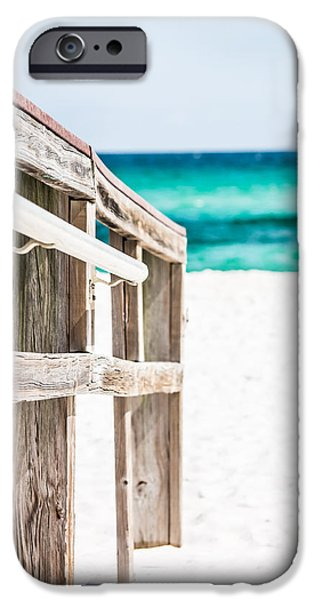 Shade Cover iPhone Cases - Beach Walk iPhone Case by Shelby  Young