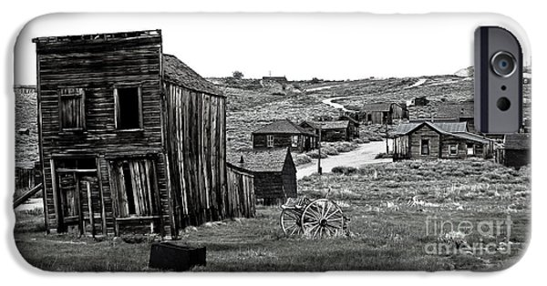 Cemetary iPhone Cases - Bodie California iPhone Case by Nick  Boren