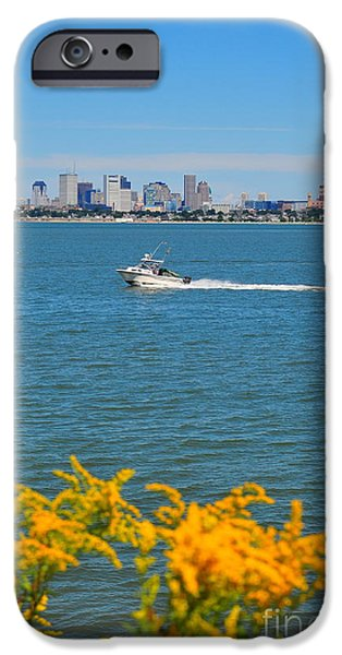 Boston Ma Photographs iPhone Cases - Boston Harbor iPhone Case by Catherine Reusch  Daley