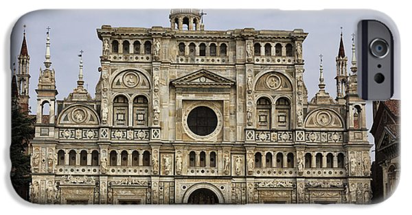 Built Structure iPhone Cases - Certosa iPhone Case by Maurizio Biso