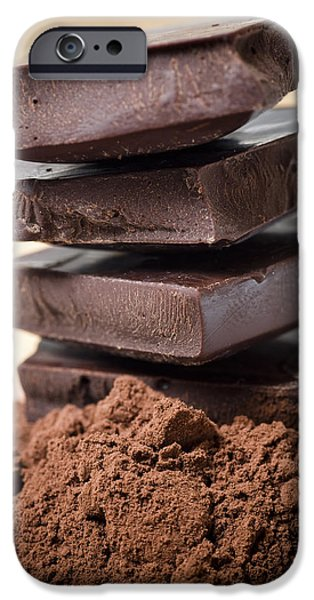 Still Life Photographs iPhone Cases - Chocolate iPhone Case by Frank Tschakert