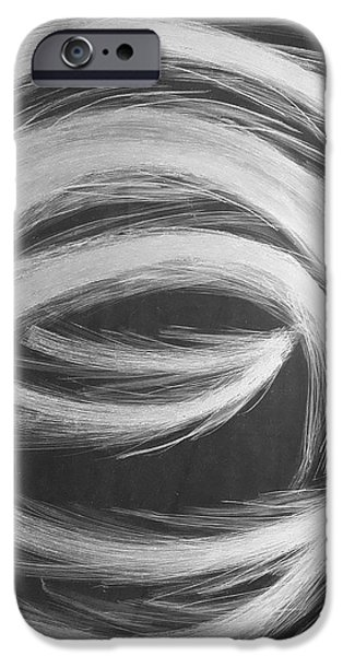 Contemporary Abstract Glass Art iPhone Cases - Claw iPhone Case by Robert Zeman