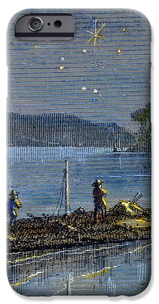 CLEMENS: TOM SAWYER iPhone Case by Granger