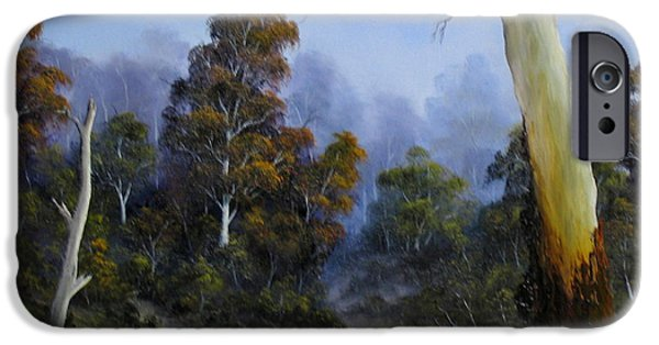 Landscapes Reliefs iPhone Cases - Country View iPhone Case by John Cocoris