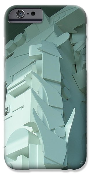 Dawn Sculptures iPhone Cases - The Art of Nevelson iPhone Case by Nancy Kane Chapman