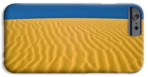Abstractions iPhone Cases - Desert Sand Dune iPhone Case by PhotoStock-Israel