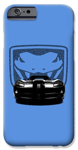 Dodge iPhone Cases - Dodge Viper iPhone Case by Mark Rogan