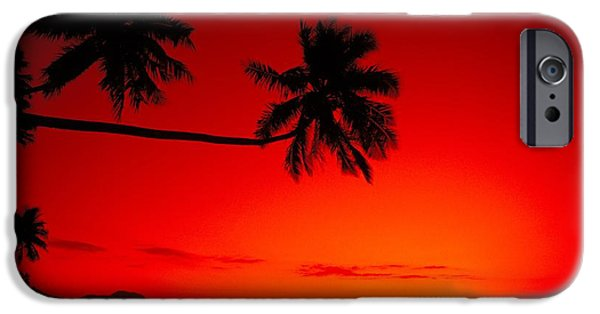 Overhang iPhone Cases - Fiji, Kadavu Island iPhone Case by Ron Dahlquist - Printscapes