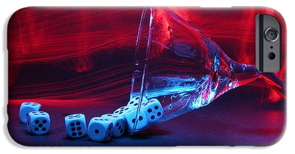 Michael iPhone Cases - Gamblers Martini iPhone Case by Michael Ledray
