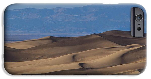 Sand Dunes iPhone Cases - Great Sand Dunes iPhone Case by Noah Bryant