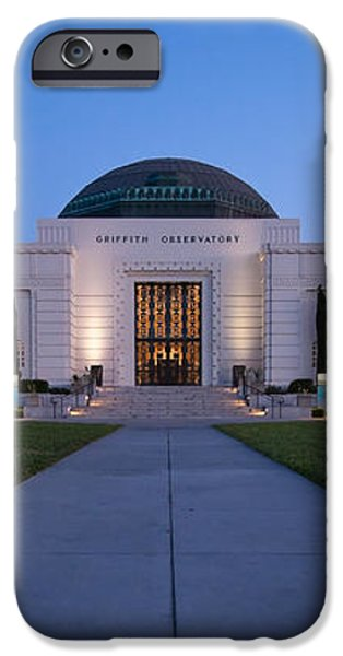 Griffith Observatory iPhone Case by Adam Romanowicz