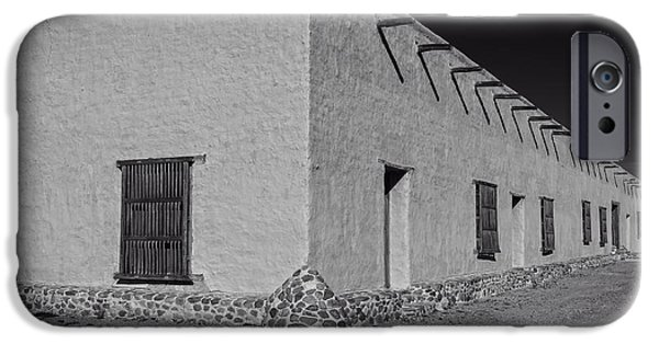 Historic Site iPhone Cases - Historic Fort Leaton- Texas iPhone Case by Mountain Dreams