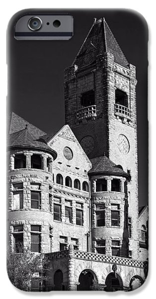 Industry iPhone Cases - Historic Preston Castle iPhone Case by Mountain Dreams