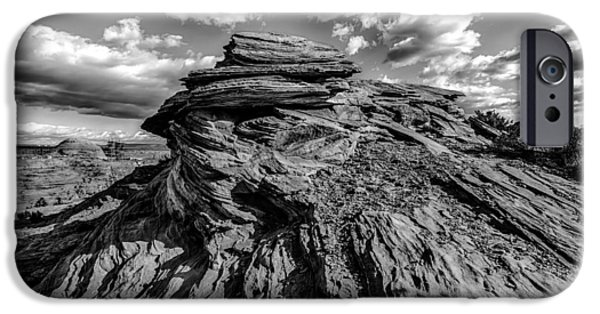 Red Rock iPhone Cases - Hoodoo Rock Formations Near Grand Canyon iPhone Case by Alexandr Grichenko