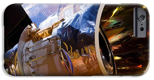 Aperture iPhone Cases - Iras Infrared Astronomy Satellite iPhone Case by Mark Williamson