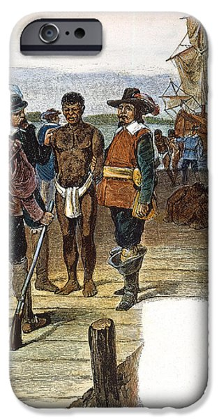 JAMESTOWN: SLAVERY, 1619 iPhone Case by Granger