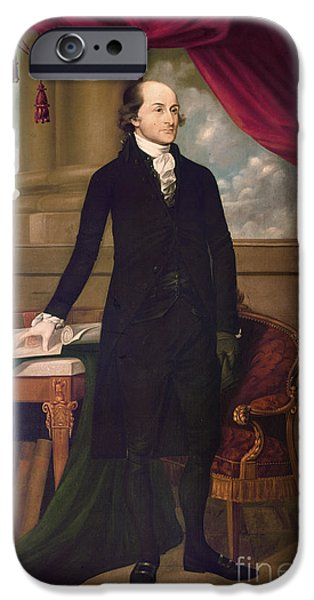 JOHN JAY (1745-1829) iPhone Case by Granger