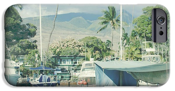 Pleasure iPhone Cases - Lahaina iPhone Case by Sharon Mau