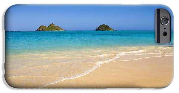 Printscapes - iPhone Cases - Lanikai, Mokulua Islands iPhone Case by Tomas del Amo - Printscapes