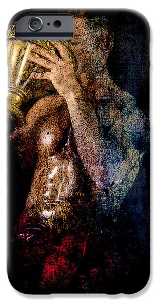 Young Digital Art iPhone Cases - Long Time Ago iPhone Case by Mark Ashkenazi