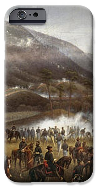 LOOKOUT MOUNTAIN, 1863 iPhone Case by Granger