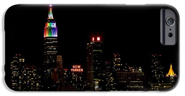 Empire State iPhone Cases - Love Wins iPhone Case by MingTa Li