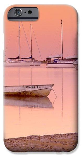 Misty Morning Osterville Cape Cod iPhone Case by Matt Suess