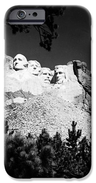 MOUNT RUSHMORE iPhone Case by Granger