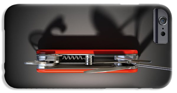 Emergency iPhone Cases - Multipurpose Penknife iPhone Case by Allan Swart