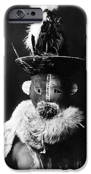 NAVAJO MASK, c1905 iPhone Case by Granger